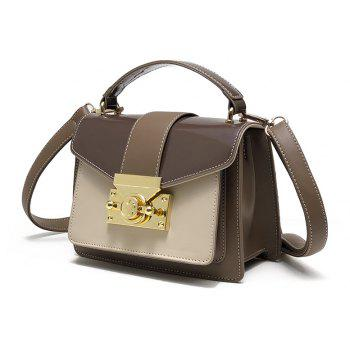 DA01299Women'S Single Shoulder Handbag - COFFEE