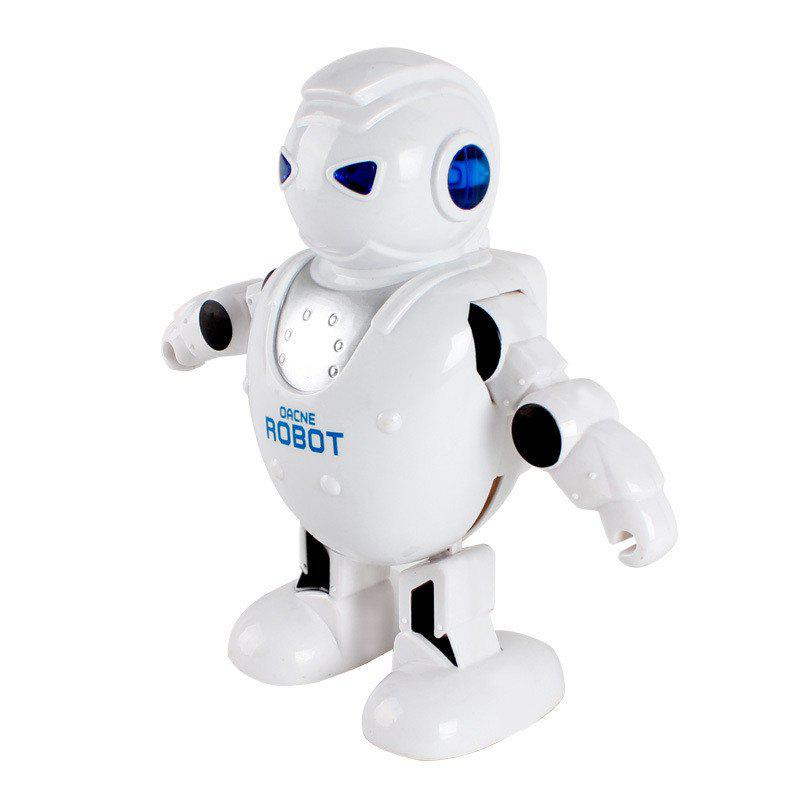 Intelligent Robot RC Dancing Figure Model Gift - WHITE