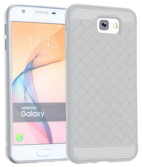 Luxury TPU Silicone Soft Phone Case for Samsung Galaxy J7 Prime Back Cover - GRAY