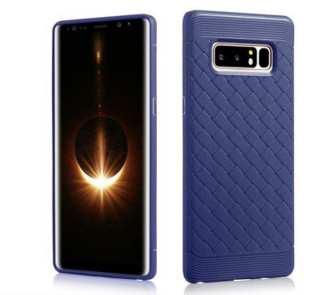 Luxury TPU Silicone Soft Phone Case for Samsung Galaxy Note 8 Back Cover - BLUE