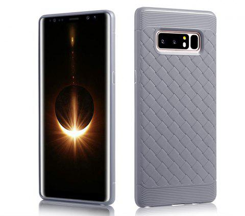Luxury TPU Silicone Soft Phone Case for Samsung Galaxy Note 8 Back Cover - GRAY