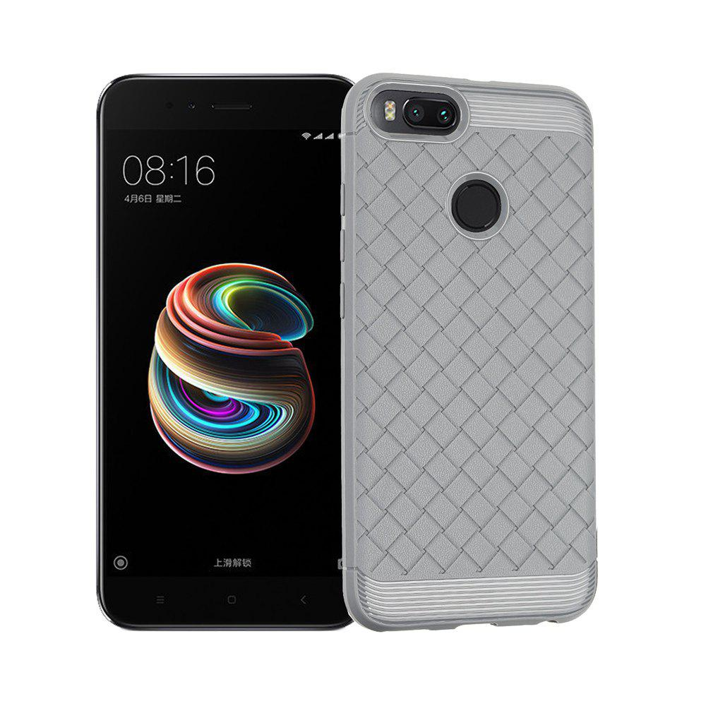 Luxury TPU Silicone Soft Phone Case for Xiaomi Mi 5X Back Cover - GRAY