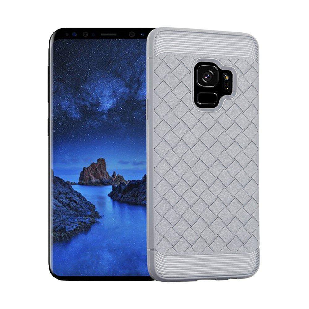 Luxury TPU Silicone Soft Phone Case for Samsung Galaxy S9 Plus Back Cover - GRAY