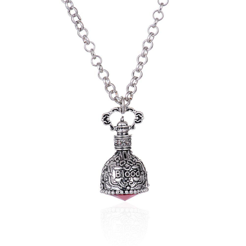European and American Fashion Jewelry Gothic Crystal Mosaic Alloy Necklace цена