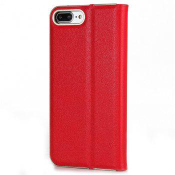 for iPhone 7 Plus/8 Plus Case Kickstand Feature Card Slots and Magnetic - RED