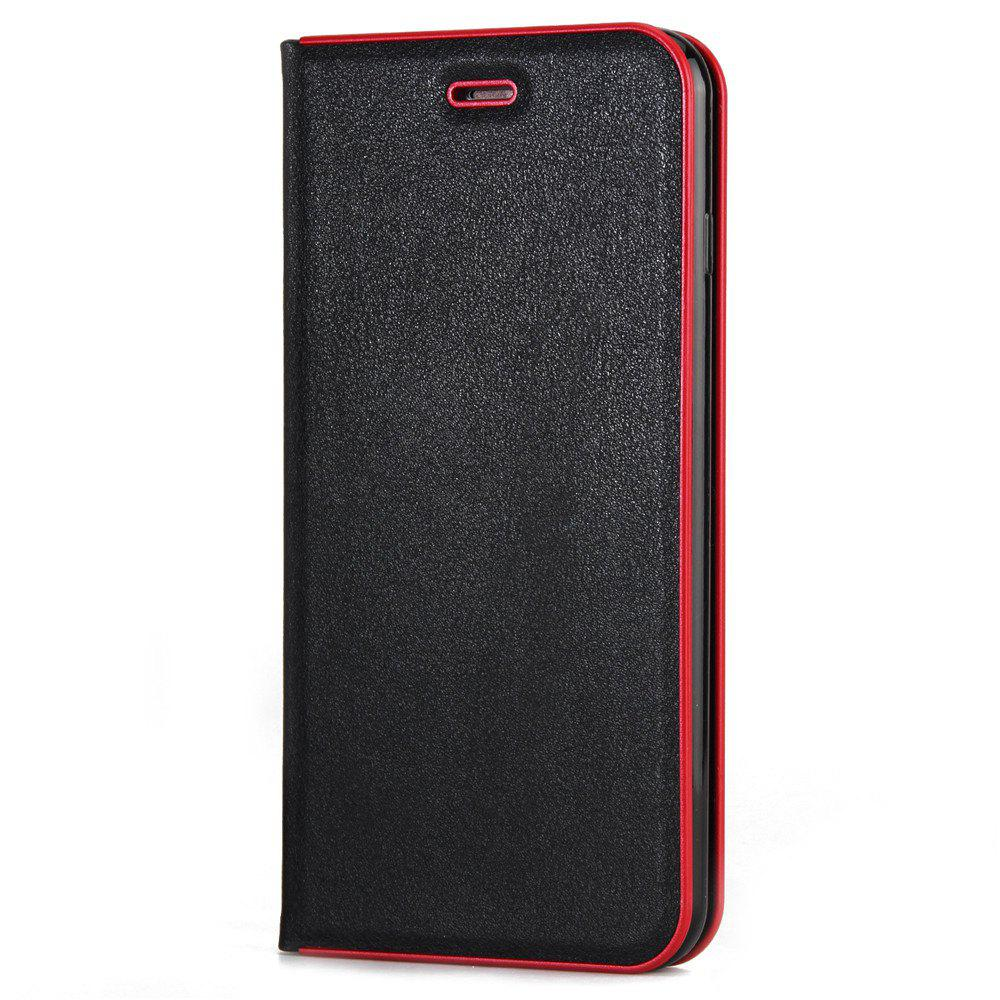 for iPhone 7 Plus/8 Plus Case Kickstand Feature Card Slots and Magnetic - BLACK