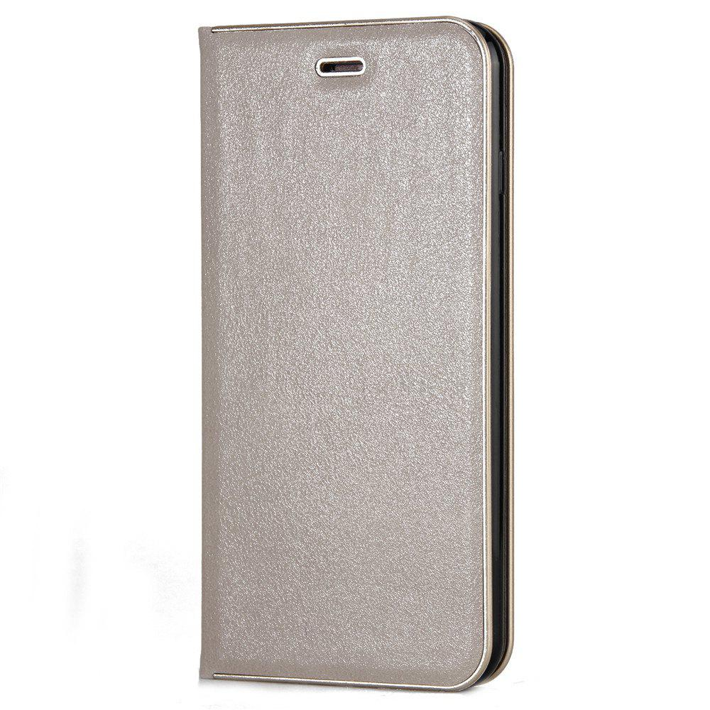 for iPhone 7 Plus/8 Plus Case Kickstand Feature Card Slots and Magnetic - PLATINUM