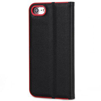 for iPhone 7/8  Case Kickstand Feature Card Slots and Magnetic - BLACK