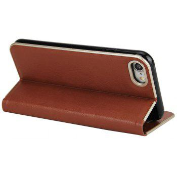 for iPhone 7/8  Case Kickstand Feature Card Slots and Magnetic - BROWN