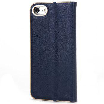 for iPhone 7/8  Case Kickstand Feature Card Slots and Magnetic - DENIM DARK BLUE