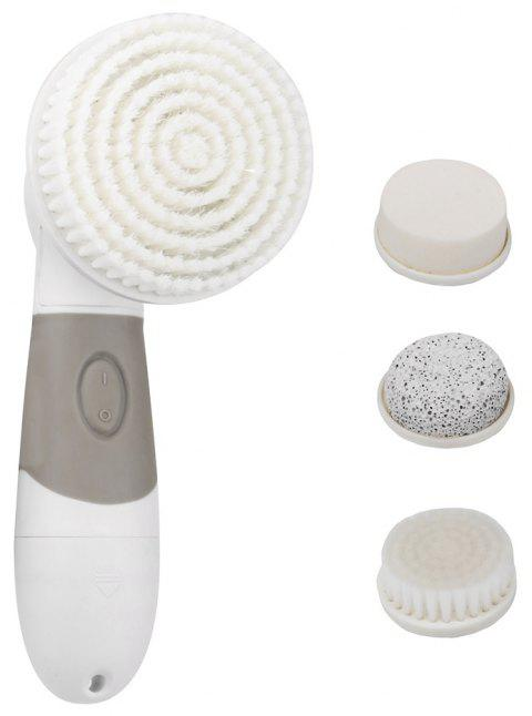 Pro Spin Brush for Perfect Skin - Face and Body - WHITE