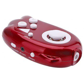 Plug and Play Handheld TV Video Game Console - RED 8.5 X 4.5 X 2CM