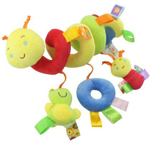 Hang Around with Infant Bed Lathe Toy - multicolor O