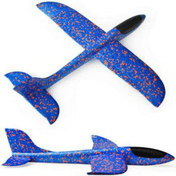 Hand Throwing EPP Foam Airplane Model Outdoor Sports Interesting Toys - SAPPHIRE BLUE