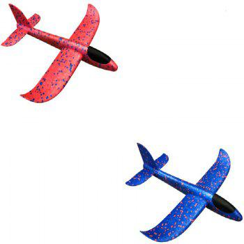 Hand Throwing EPP Foam Airplane Model Outdoor Sports Interesting Toys - LAVENDER PINOCCHIO