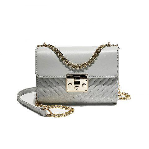 The Tide All-Match Crossbody Shoulder Fashion Chain Bag - GRAY
