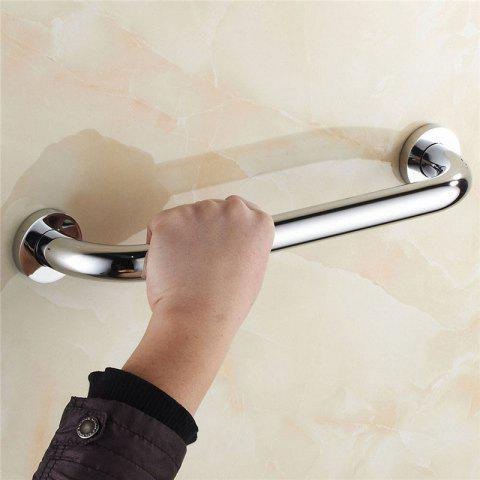 Stylish Stainless Steel Bathtub Safety Rail Handle - SILVER 50CM