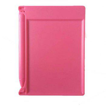 4.4 Inches Portable Mini Writing Tablet Paperless Notepad - WATERMELON PINK