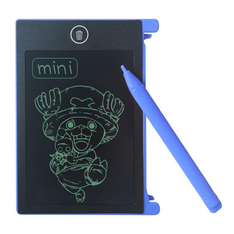 4.4 Inches Portable Mini Writing Tablet Paperless Notepad - ROYAL BLUE