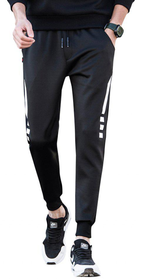 Bounce Pants Jogging Pants - BLACK 3XL