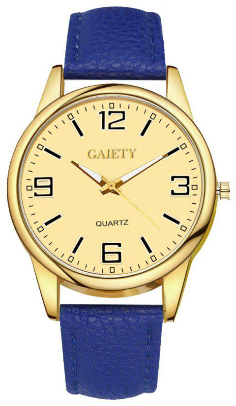 Leisure Personality Quartz Watch - BLUE