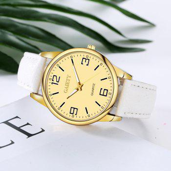 Leisure Personality Quartz Watch - WHITE