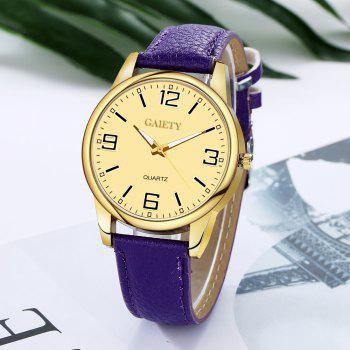 Leisure Personality Quartz Watch - VIOLET