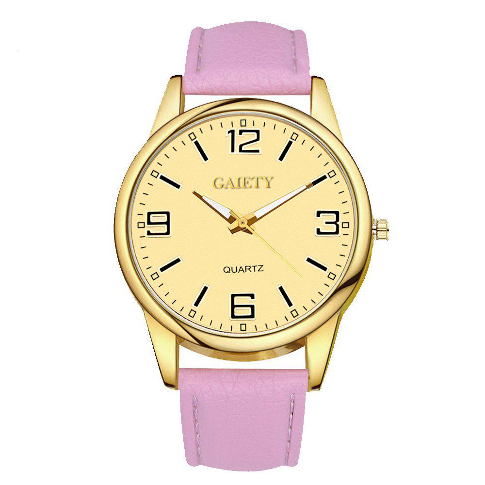 Leisure Personality Quartz Watch - PINK