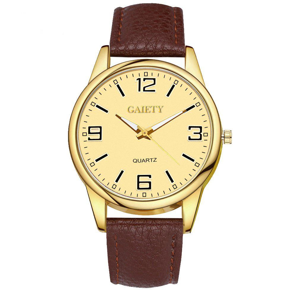 Leisure Personality Quartz Watch - DEEP BROWN