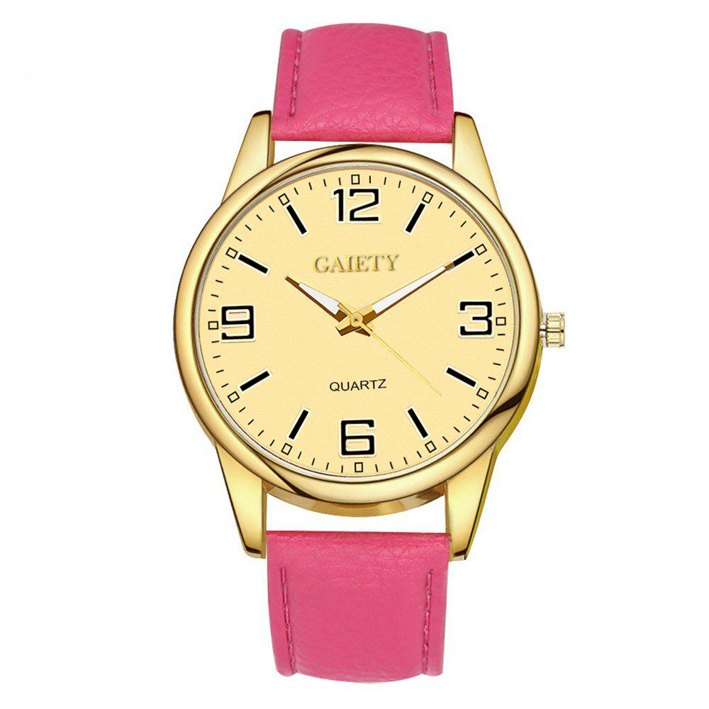 Leisure Personality Quartz Watch - ROSE RED