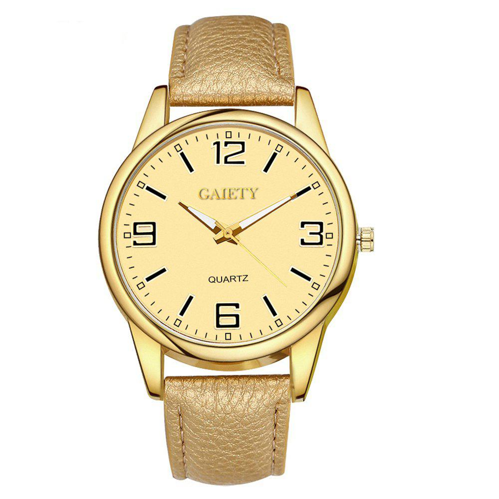 Leisure Personality Quartz Watch - BRONZE