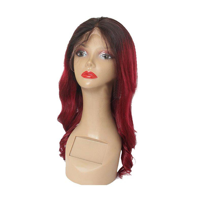 Big Red Rolls with Lace Wigs - RED WINE 18INCH