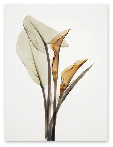 W005 Calla Lily Unframed Art Wall Canvas Prints for Home Decorations - 001 30CM X 40CM