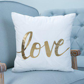 Super Soft Pineapple Love Letter with Pillow Cover - multicolor A