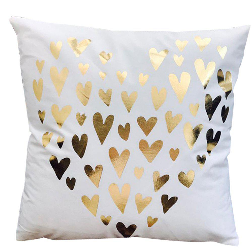 Super Soft Pineapple Love Letter with Pillow Cover - multicolor E