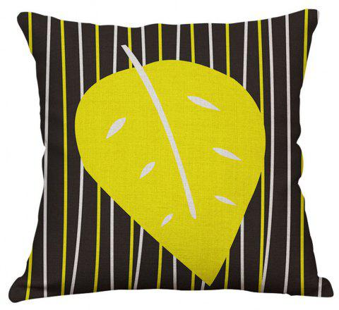 Geometric Letter Design Pillow Cover - multicolor B