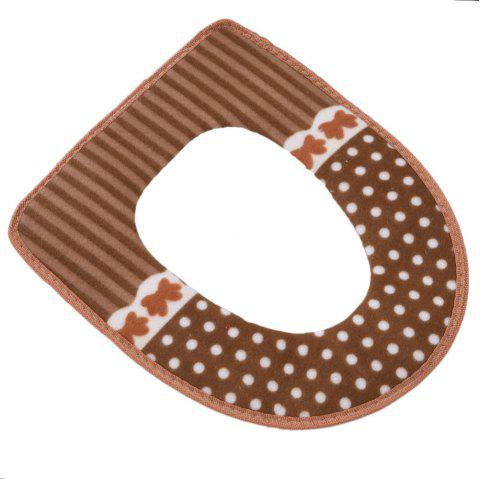 Waterproof Toilet Seat Cover - RED DIRT