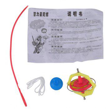 Magic Music Gyroscope Toy Gyro with LED - multicolor A