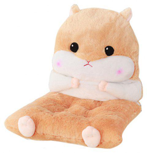 Hamster Model Can Be Split with Core Thickened One-piece cushion - CAMEL BROWN