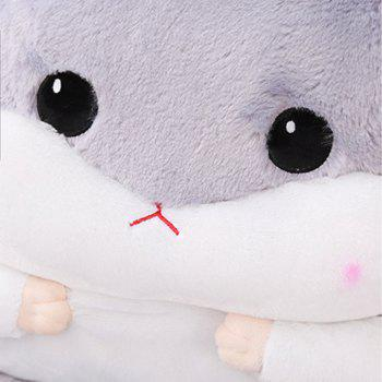 Hamster Model Can Be Split with Core Thickened One-piece cushion - GRAY GOOSE