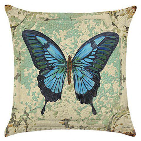 Lovely Butterfly Pillow Cover - BLUE ANGEL