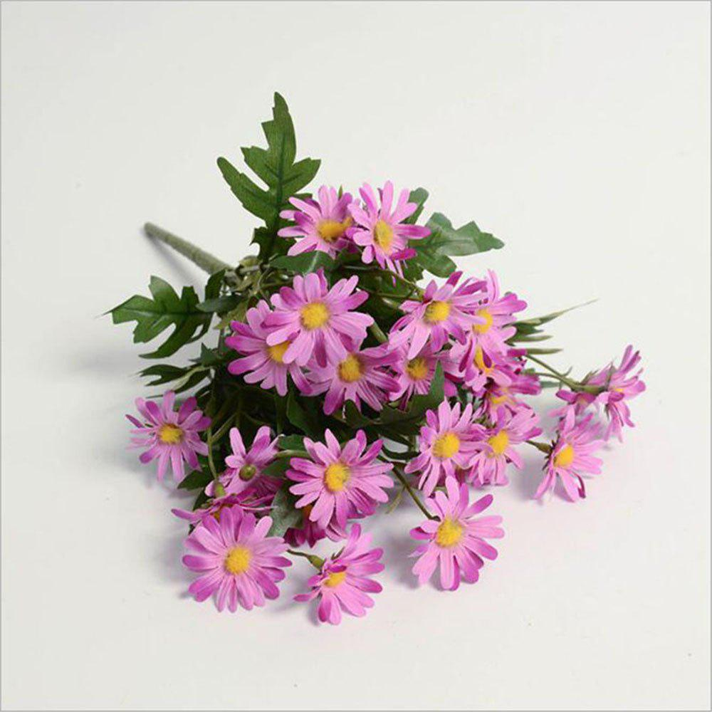 Daisies Decorated Artificial Flowers - PINK
