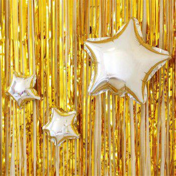 Rain Curtain Birthday Wedding Party Background Wall Decoration - GOLD