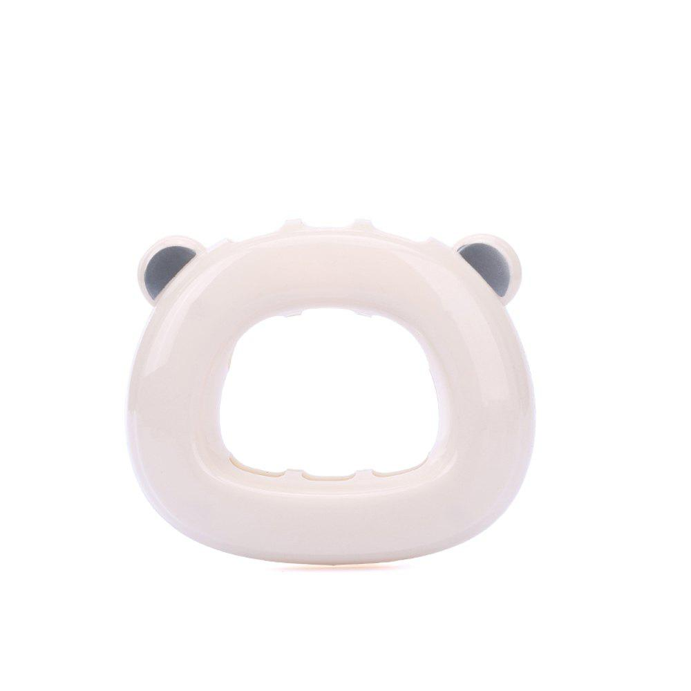 Punch-Free Suction Bear Toothbrush Holder bear shaped toothbrush container