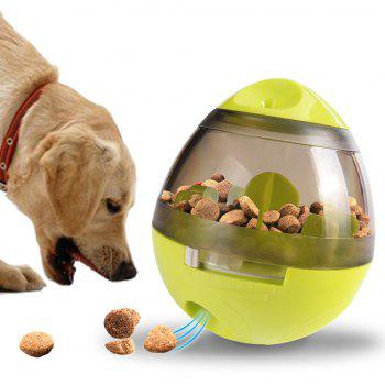 Funny Pet Toy Leakage Feeder Food Container Pets - PISTACHIO GREEN