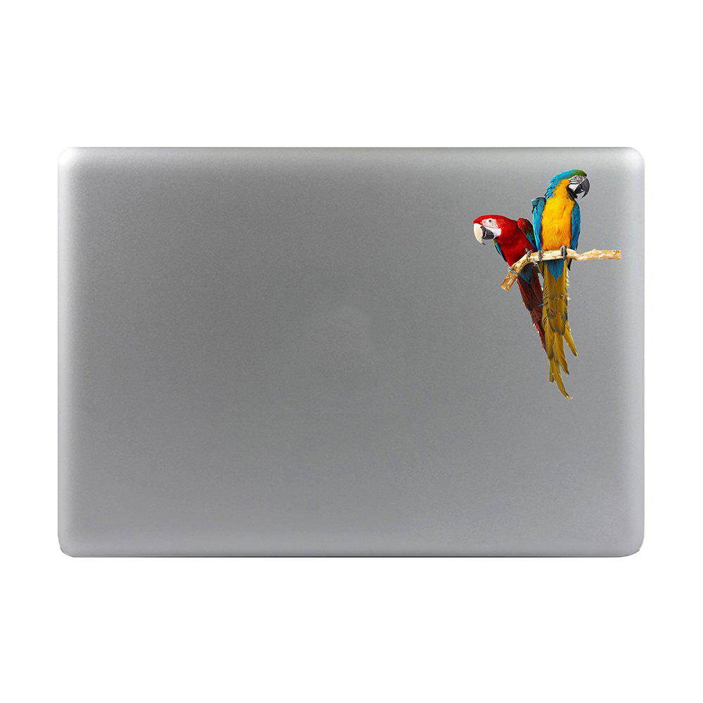 Art Creativity Notebook Refrigerator Luggage Cartoon Parrot Sticker Draw M020 - multicolor A