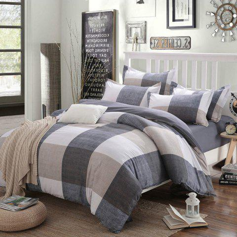 New Spring Bedding Sets Sweetheart Style Creativity Space Duvet Cover Set Quilt - LIGHT KHAKI QUEEN