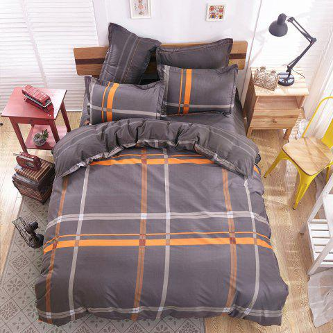 New Spring Bedding Sets Sweetheart Style Creativity Space Duvet Cover Set Quilt - BROWN BEAR DOUBLE
