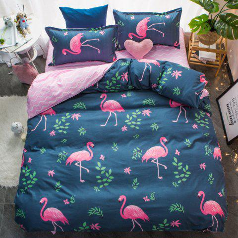 New Spring Bedding Sets Sweetheart Style Creativity Space Duvet Cover Set Quilt - BEETLE GREEN QUEEN
