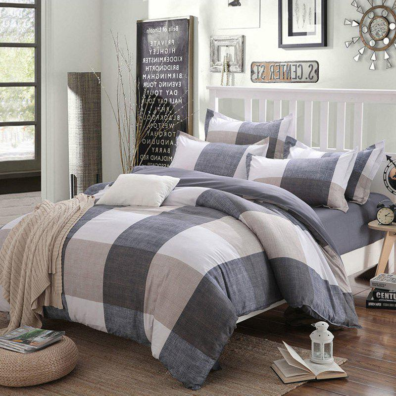 New Spring Bedding Sets Sweetheart Style Creativity Space Duvet Cover Set Quilt - LIGHT KHAKI TWIN